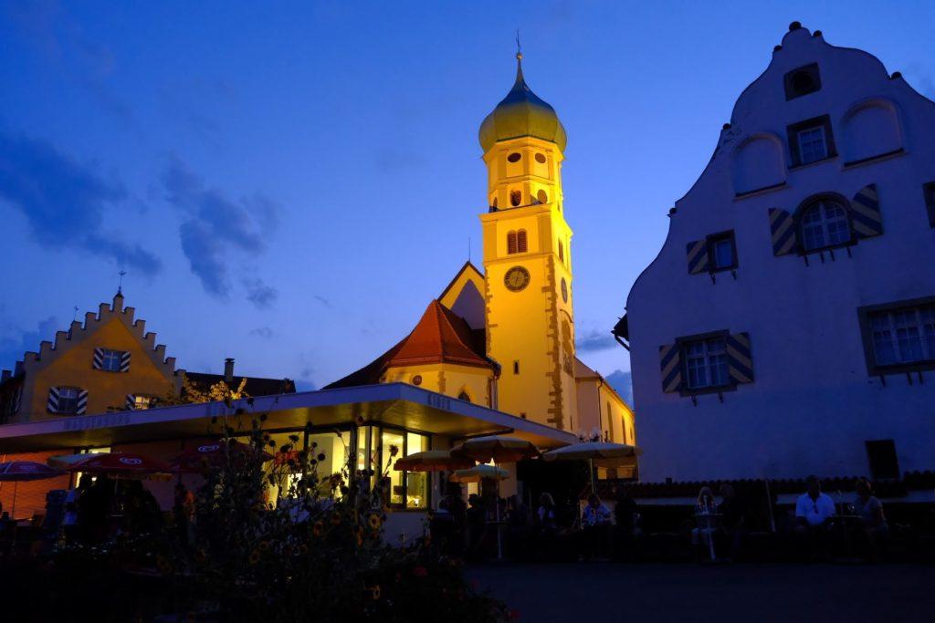 Wasserburg am Abend